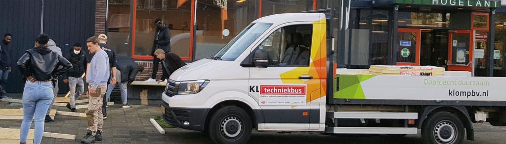Klomp investeert in geweldig initiatief De Techniekbus
